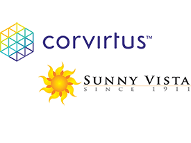 """Corvirtus Receives """"Outstanding Partner in Connected Care"""" Award from Sunny Vista Living Center"""