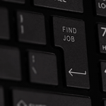 Find Job key on keyboard