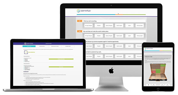 Mobile Responsive Pre-Employment Assessments by Corvirtus
