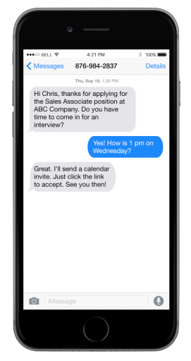 Text Messaging with CovirtusHire