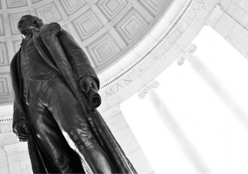 Statue of Abe Lincoln