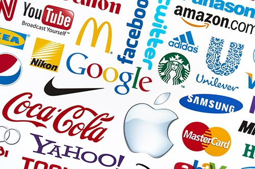 Several well-known brand logos including Google, McDonald's, and Amazon